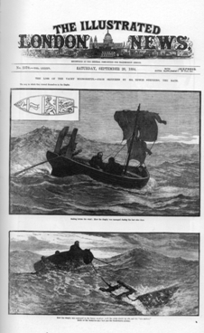 1884 cannibalism on the high seas
