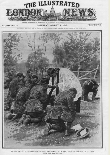 1917 communion before battle